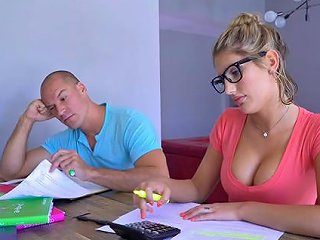 Nerdy Babe With The Most Perfect Body Is Getting Poked On Any Porn