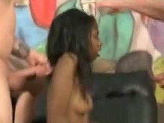 Wow Incredible Rough Interracial Sex
