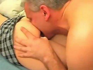 Cute Teen Fucks Daddy And Gets A Cream Pie