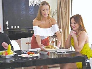 Alexis Crystal Shares A Fat Cock With Everhorny Eva Berger Hdzog Free Xxx Hd High Quality Sex Tube