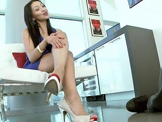 Arousing Vicky Chase In Foot Fetish Sex Scene Any Porn