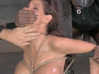 Syren De Mer Is Glad To Be Face Fuck By Two Erected Love Tools