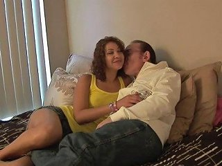 Fuckable Brunette Bitch Likes Hair Pulling Doggystyle Sex