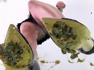 Milena Crushing Snails Underglass View With Sexy Sharp Black High Heels Txxx Com
