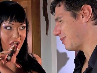 Angelica Green Eyes Fucked In The Ass