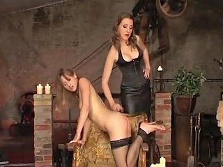 Two German Lesbain Women Enhoy Some Spanking Flogging And Impact Play Txxx Com