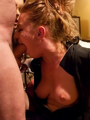 Maid To Suffer Punished and Fucked by her Employers!