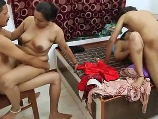 First Time Indian Orgy...