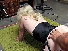 Anal Training For Fisting With Dominant Man