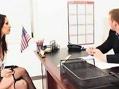 Naughty Goth Schoolgirl Seduces The Dean