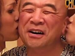 Daddy Saito With Ladyboys