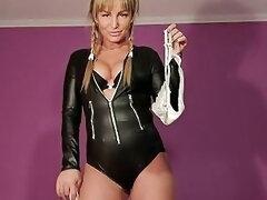 Mistress Zabava Play With Slave