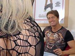 Blonde Tranny Nathalia De Castro Loves A Hard Cock In Her Mouth Or Ass Upornia Com