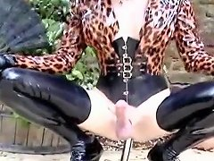 Crazy Homemade Shemale Movie With Dildos Toys Outdoor Scenes