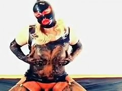 Crazy Homemade Shemale Movie With Fetish Latex Scenes
