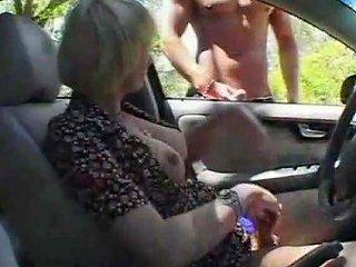Shemale Car Fucking
